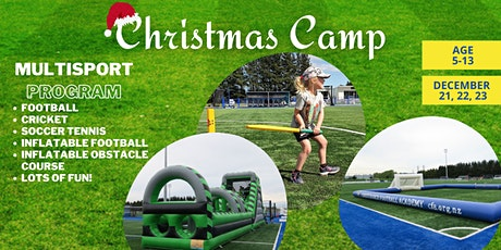 Christmas Multisport Camp tickets