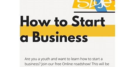 Online Roadshow: How to Start a Business tickets