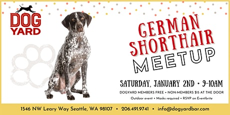German Shorthair Meetup at the Dog Yard tickets