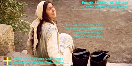 Fourth Sunday of Advent - Dec. 20, 2020 tickets