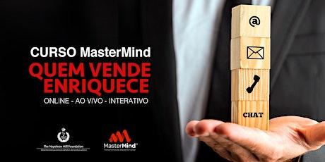 Curso on-line MasterMind Quem Vende Enriquece ingressos
