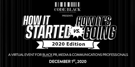 How It Started vs. How It's Going 2020 Edition tickets
