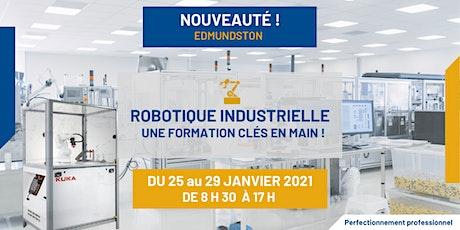 Robotique industrielle : une formation clés en main! billets