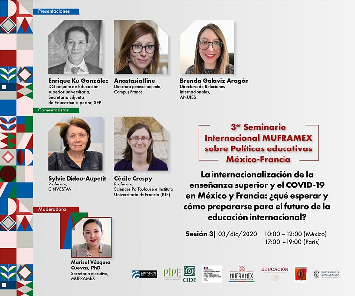Imagen de 3e Séminaire International sur les Politiques éducatives France-Mexique