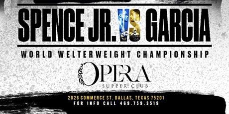 Fight Night - AfterParty  At Opera SupperClub tickets
