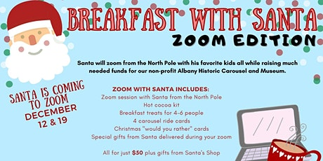 Breakfast with Santa: Zoom Edition tickets