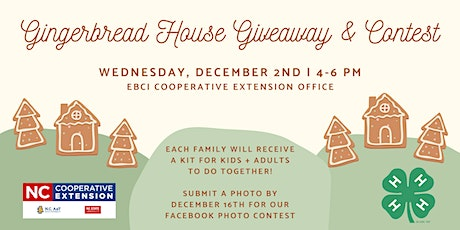 EBCI 4-H Gingerbread House Contest tickets