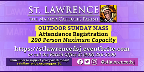 SATURDAY, December 5 @ 4:00  PM Vigil Mass Registration tickets