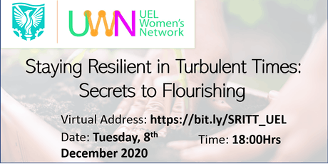 Staying Resilient in Turbulent Times - Secrets to Flourishing tickets