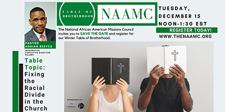 NAAMC Presents:  The Table of Brotherhood tickets