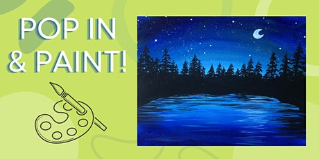 Pop In & Paint - Starry Lake tickets