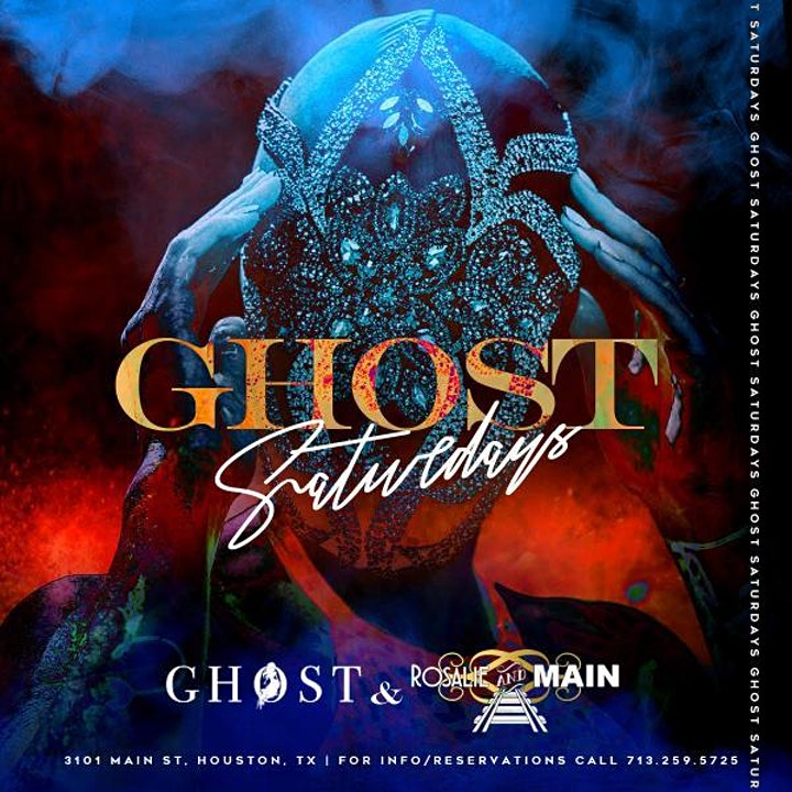 GHOST SATURDAYS at GHOST HTX - RSVP NOW! FREE ENTRY image