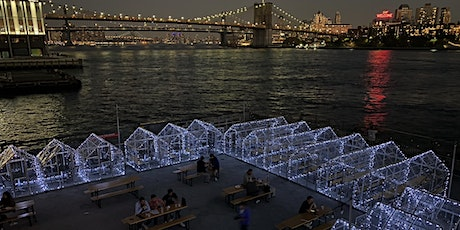 "FRIDAYS: WATERFRONT DINING in HEATED ""GLASSHOUSES"" @ WATERMARK - PIER 15 tickets"