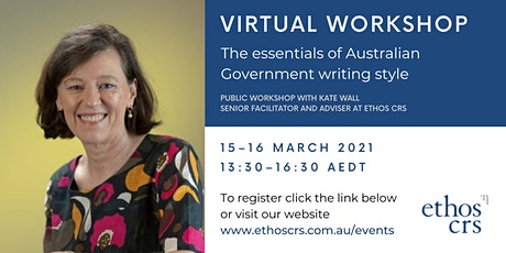 The essentials of Australian Government writing style – March tickets