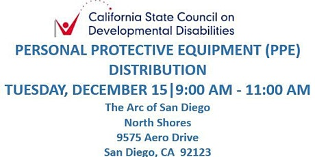 SCDD PPE Distribution for Families in Need - Arc North Shores tickets