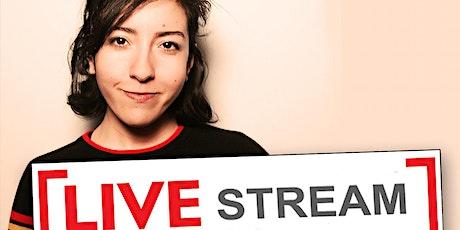 Live-Streamed Show from Eastville in Brooklyn! Dina Hashem Janeane Garofalo tickets