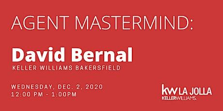 Agent Mastermind: David Bernal tickets