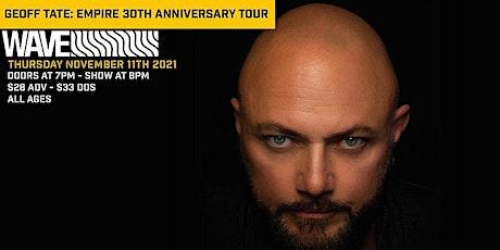 Geoff Tate: Empire 30th Anniversary Tour tickets