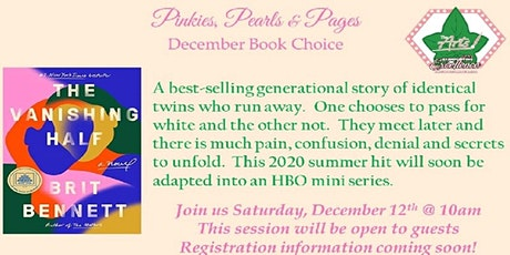 Pinkies, Pearls & Pages December Book Club tickets