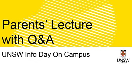 Parents' Lecture with Q&A tickets