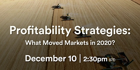 Profitability Strategies: What Moved Markets in 2020? Webinar tickets