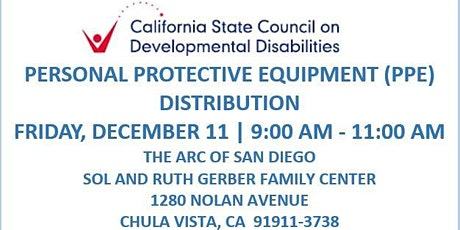 SCDD PPE Distribution for Families in Need - Arc Gerber Center tickets