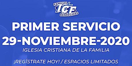 Servicio ICF - 29 de noviembre de 2020  - Primer Servicio - 8AM tickets