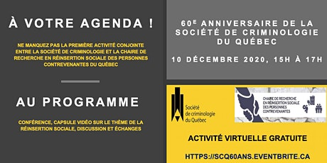 60 ans de réinsertion sociale billets