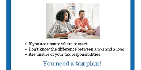 Independent Contractors - What's Your Tax Plan? tickets