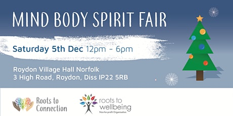 Christmas Mind Body Spirit Fair 5th Dec 2020 Pay £2.50 Entry For Charity tickets