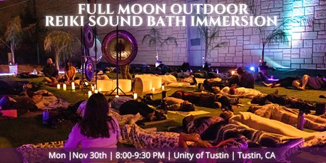 Full Moon Outdoor Reiki Sound Bath tickets