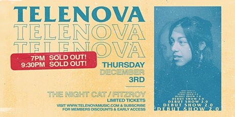 SOLD OUT Telenova Debut Show - Second Show tickets