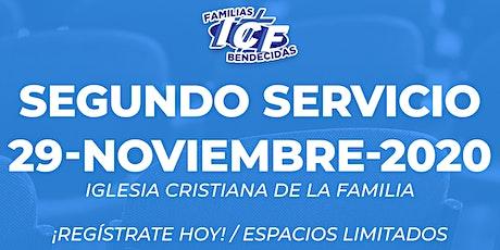 Servicio ICF - 29 de noviembre de 2020  - Segundo Servicio - 11AM tickets