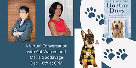 Cat Warren in Virtual Conversation with Maria Goodavage tickets