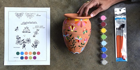 LOLA Y TULA Painting Planter Kit - sponsored by I LOVE MICHELADAS tickets