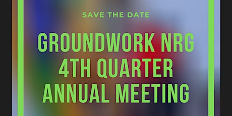 Groundwork NRG Annual Meeting 2020 tickets