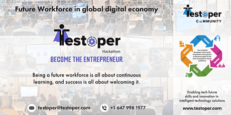 Hackathon -Future Workforce in Global Digital Economy tickets