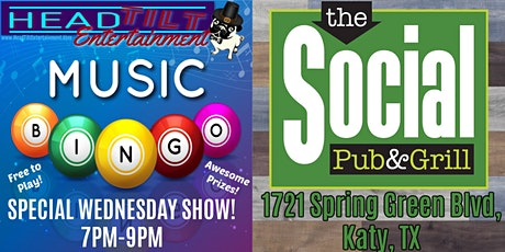 **NEW DATE THIS WEEK** Music Bingo at The Social Pub & Grill tickets