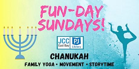 Fun-Day Sundays: Chanukah Yoga and Storytime! tickets