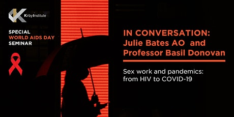 Sex work and pandemics: from HIV to COVID-19 - A World AIDS Day webinar tickets