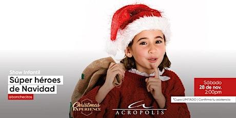¿Sabías que existen súper héroes de Navidad? entradas