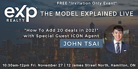 The eXp Model Explained LIVE With Special Guest Superstar Agent John Tsai tickets