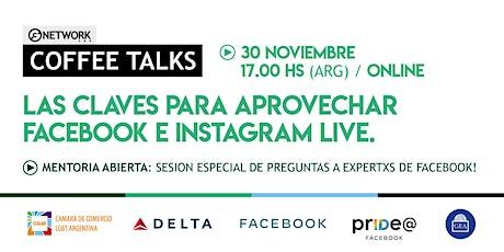 FACEBOOK: Mentoria Abierta, claves para aprovechar Facebook e Instagram entradas