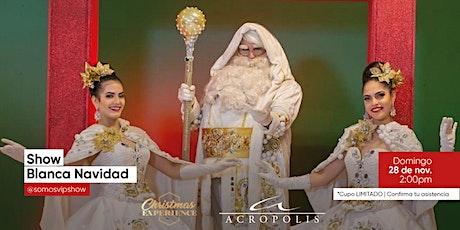 Show infantil Blanca Navidad entradas