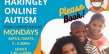 Haringey Online Autism Family Support - Mondays tickets