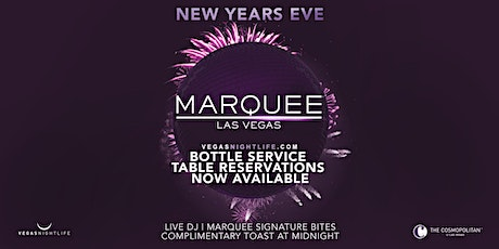 Marquee Las Vegas | New Year's Eve Party 2021 tickets