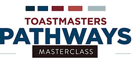 Toastmasters District 99 - Pathways Masterclass 101 (09 Dec, 2020) tickets