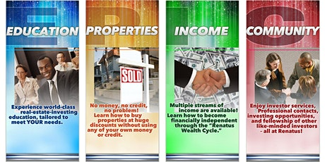Real Estate Investing , Financial Literacy & Tax Strategy Classes Online tickets