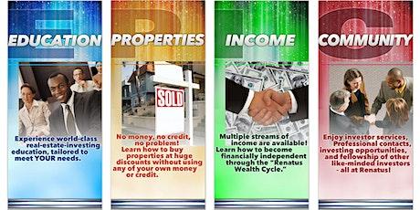 Real Estate Investing , Financial Literacy & Tax Strategy Classes Online biglietti