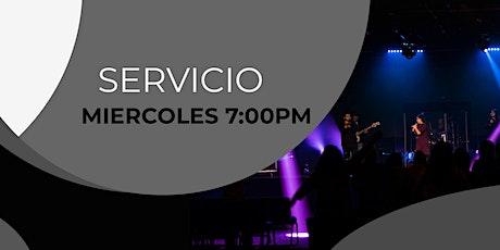 Servicio   Familiar Miercoles 7:00pm tickets